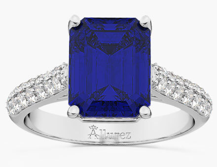 Design Your Own Gemstone Engagement Ring