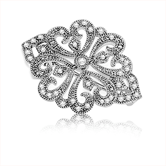 Diamond Brooches & Pins