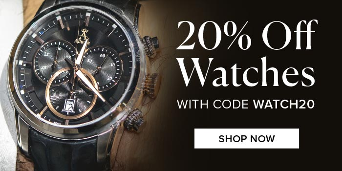 20% Off Allurez Watches