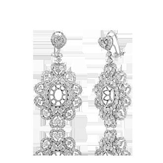 Semi-Mount Earrings