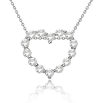 Moissanite Pendants & Necklaces