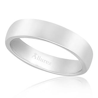 Mens Plain Wedding Bands