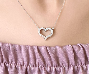 Valentine's Gift Guide - Heart Shape Jewelry