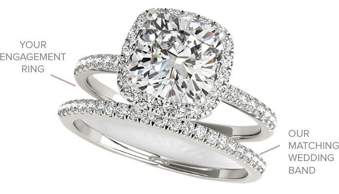 Match Your Engagement Ring and Wedding Band