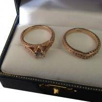 Custom Antique Style Black Diamond Engagement Ring Setting 14k White Gold (0.40ct)