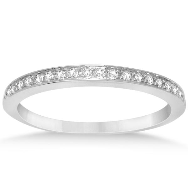 Double Halo Diamond Engagement Ring & Band Bridal Set 14k W Gold 1.03ct