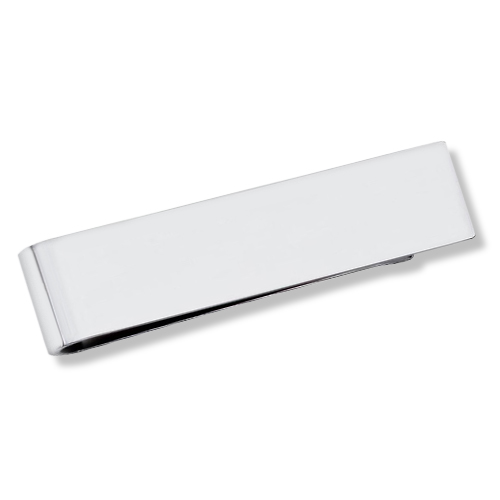 Modern Thin Money Clip For Men Sterling Silver