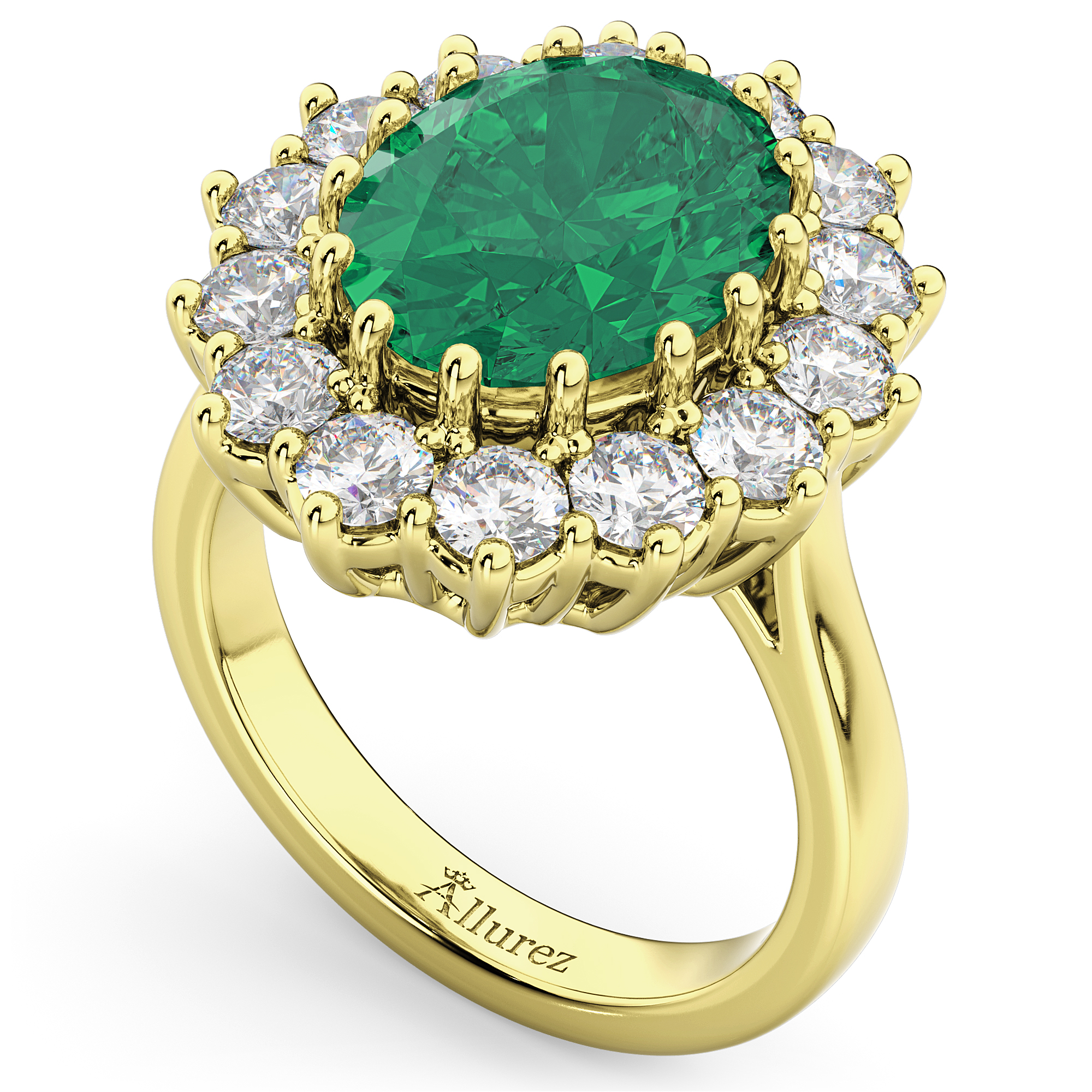 emerald oval bezel product ring jewellers sideways solitaire taing semi