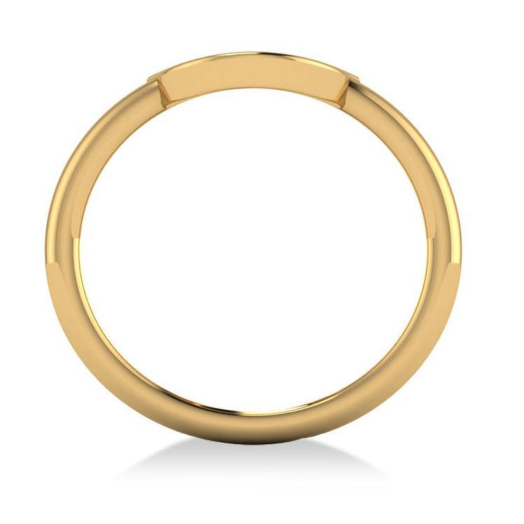 Centered Horseshoe Fashion Ring 14k Yellow Gold