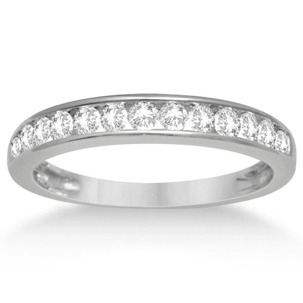 Diamond Halo Engagement Ring & Band 14K White Gold Bridal Set 1.52ct