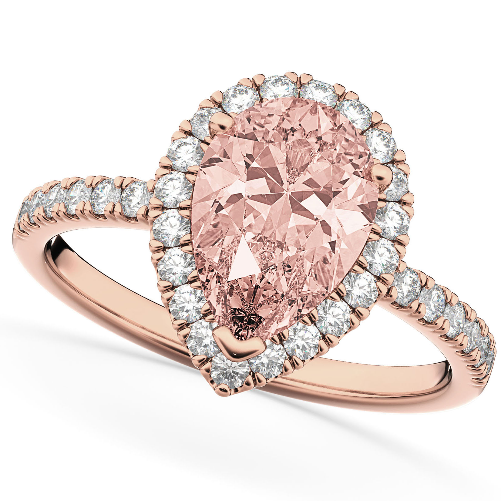 Beautiful Rose Gold Infinity Wedding Rings | Wedding