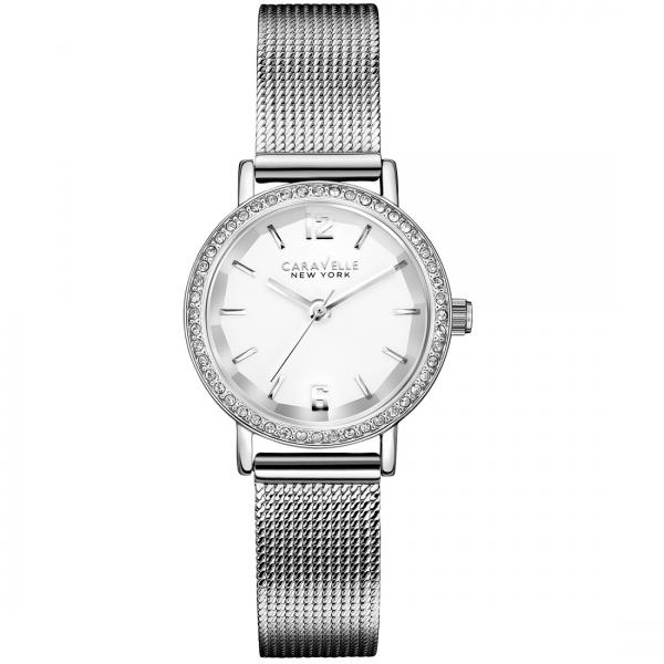 Caravelle Women's Mini Collection Stainless Steel Watch