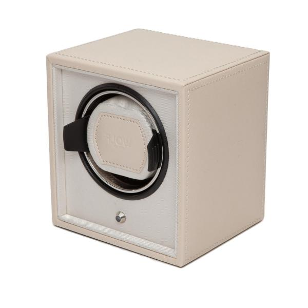 Wolf Designs Cub Single Watch Winder in Cream