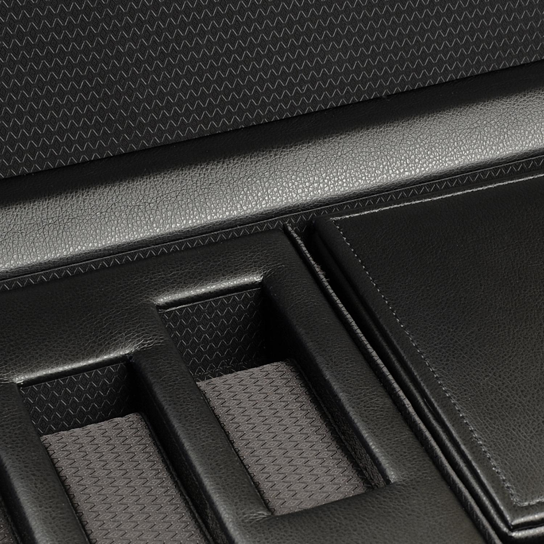 WOLF Roadster Men's Faux Leather Triple Watch Winder w/ Storage Travel Case Lock