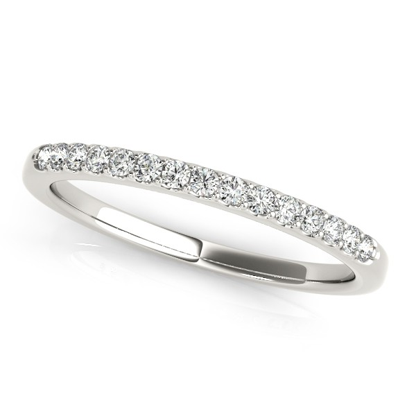 Diamond Wedding Ring Band Palladium (0.23ct)