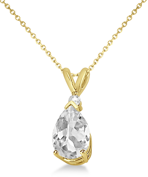 products white grande supernova moissanite necklace pendant gold