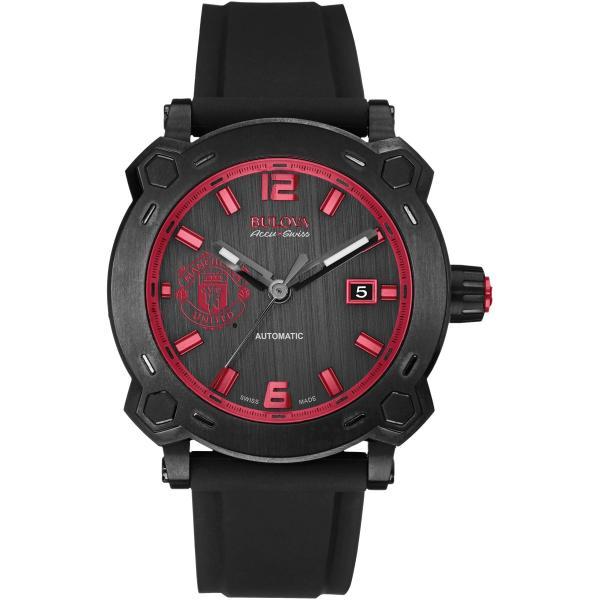 Men's Bulova Watch AccuSwiss Automatic with Black Dial & Titanium Case