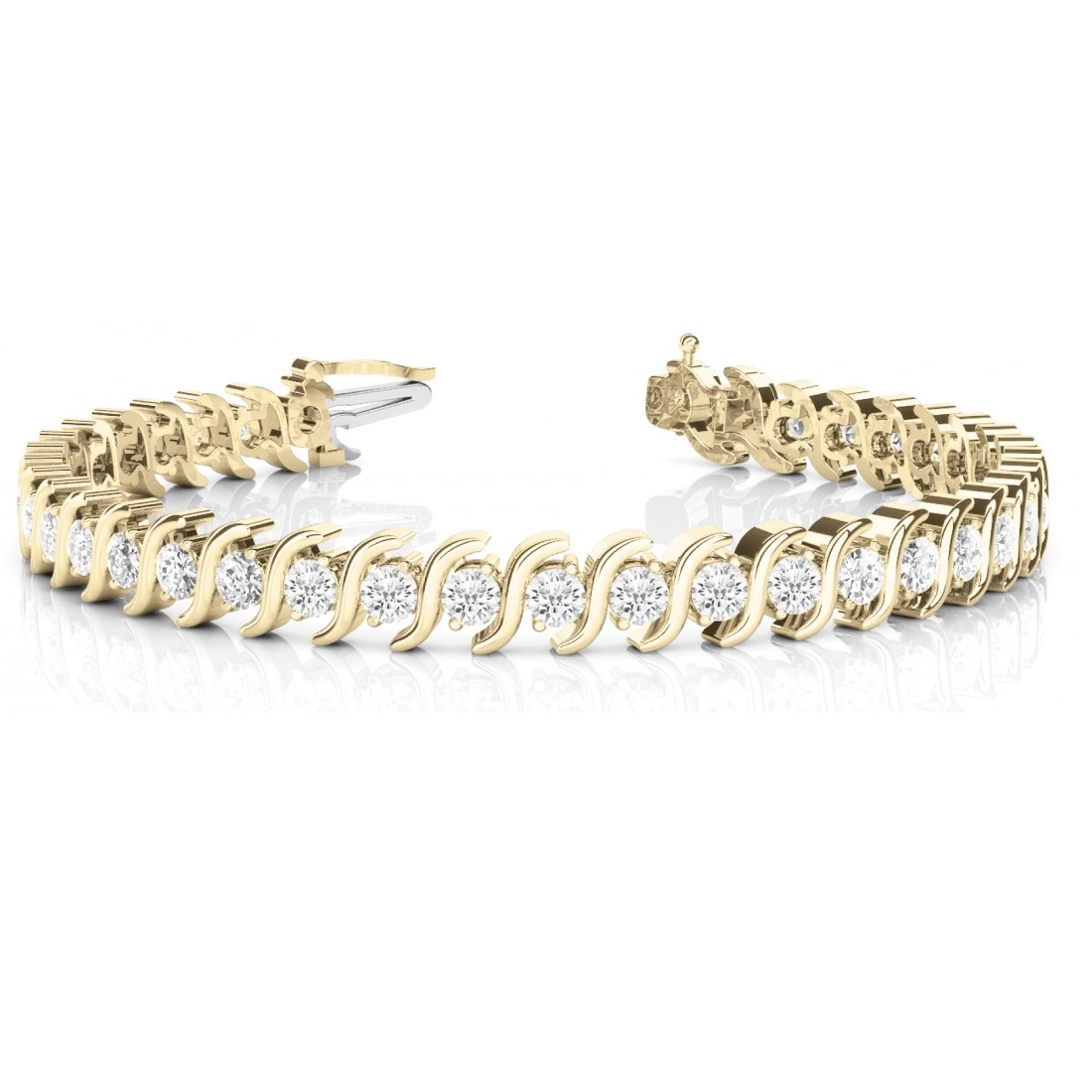 Diamond Tennis S Link Bracelet 18k Yellow Gold (500ct. Antique Silver. Beige Necklace. Vintage Two Tone Engagement Rings. Long Chains. Hand Crafted Wedding Rings. Coral Rings. Where To Buy Anklets. Designs Beads