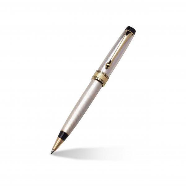 Aurora Optima 14k Yellow Gold Plated & Silver Fine Ballpoint Pen