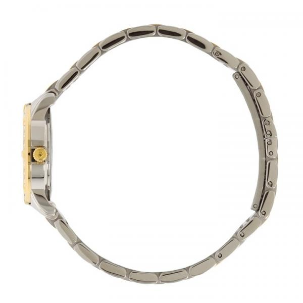 Bulova Women's Mother-of-Pearl Two Tone Diamond Accented Quartz Watch