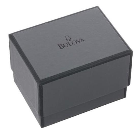 Bulova Women's Diamond Accented Rose Gold Tone Mesh Bracelet Watch