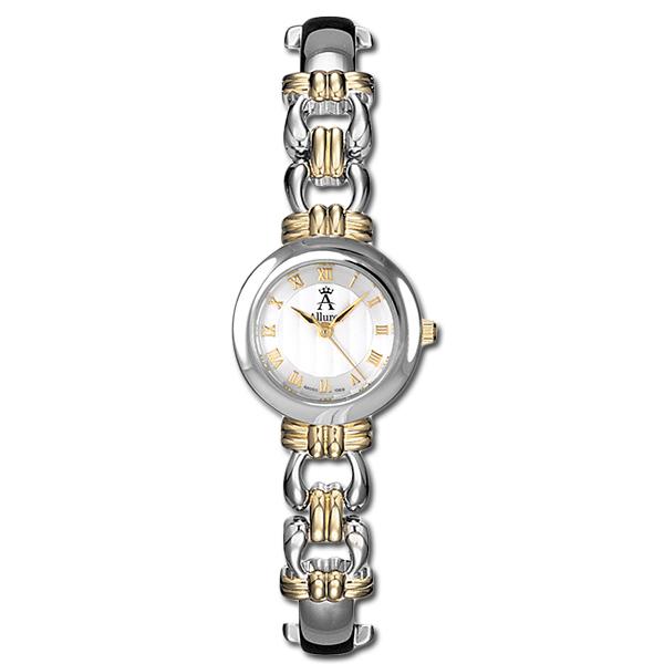 Allurez Women's Contemporary Two-Tone Swiss Quartz Wrist Watch