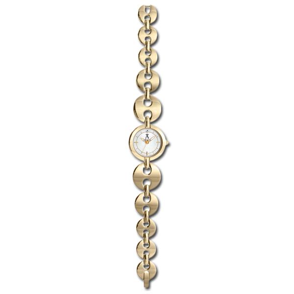 Allurez Diamond & Mother of Pearl Dial Bracelet Fashion Watch Women's