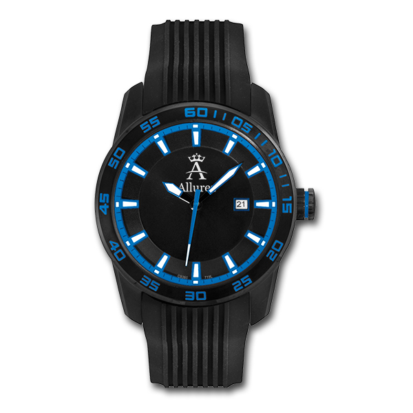 Allurez Men's Luminous Long-Life Sports Wrist Watch Swiss Made