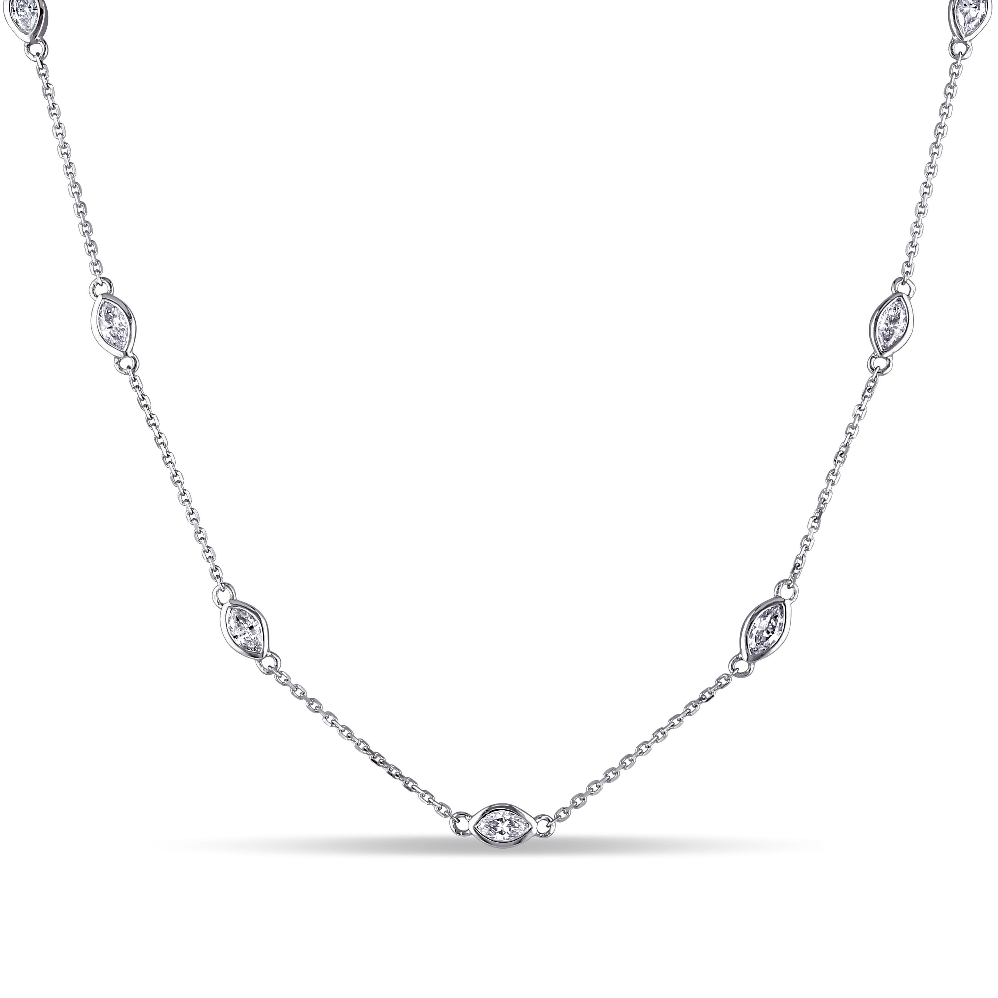 diamond quadrum ddfa pendant gallery five necklace products marquise