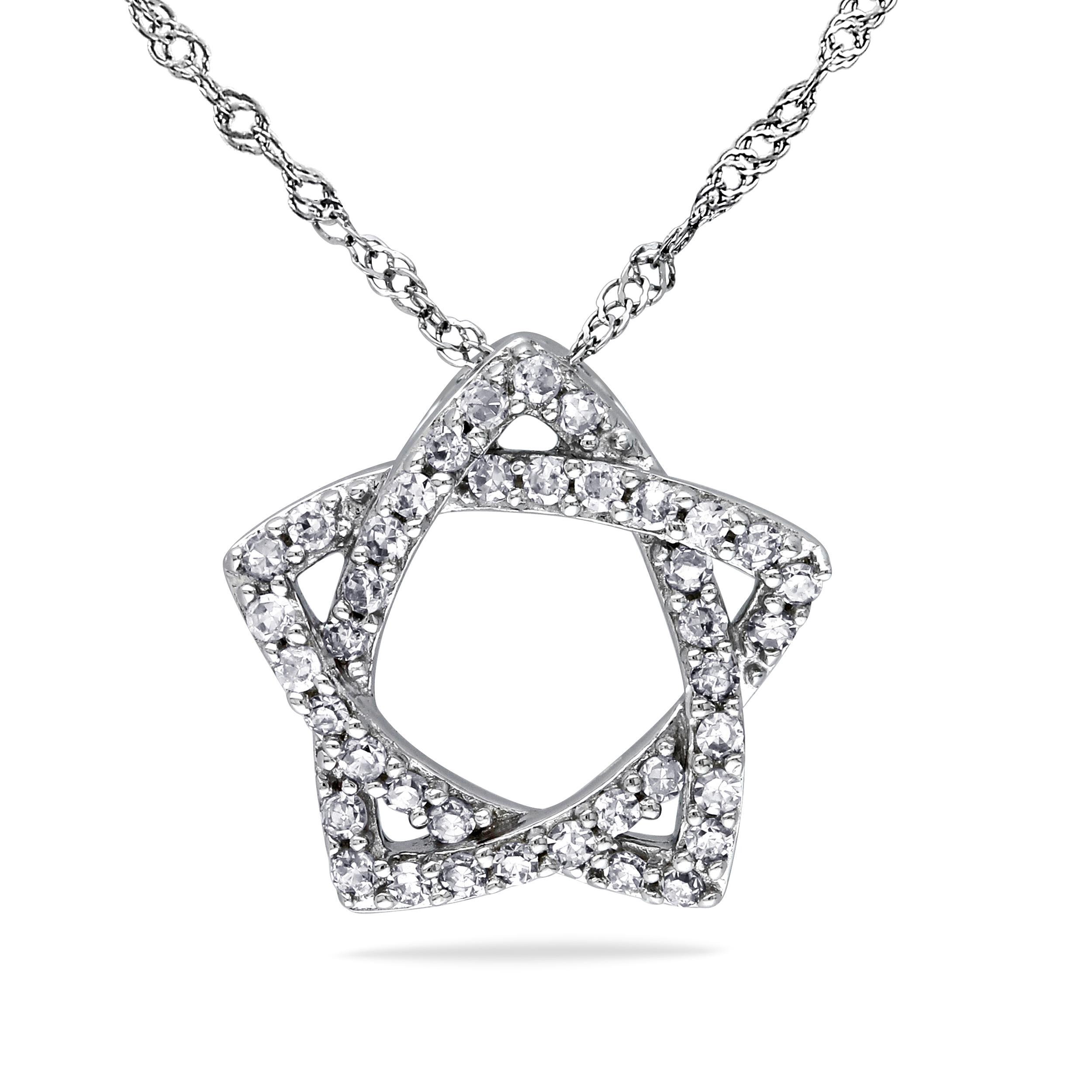 Allurez 14kt Yellow Gold Diamond V Shaped Pendant Necklace - 16 Inches 66jjW7VJBt