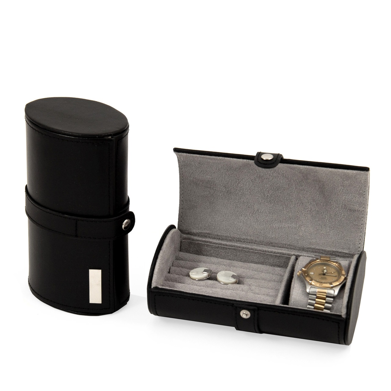 Travel Watch Cufflink Case