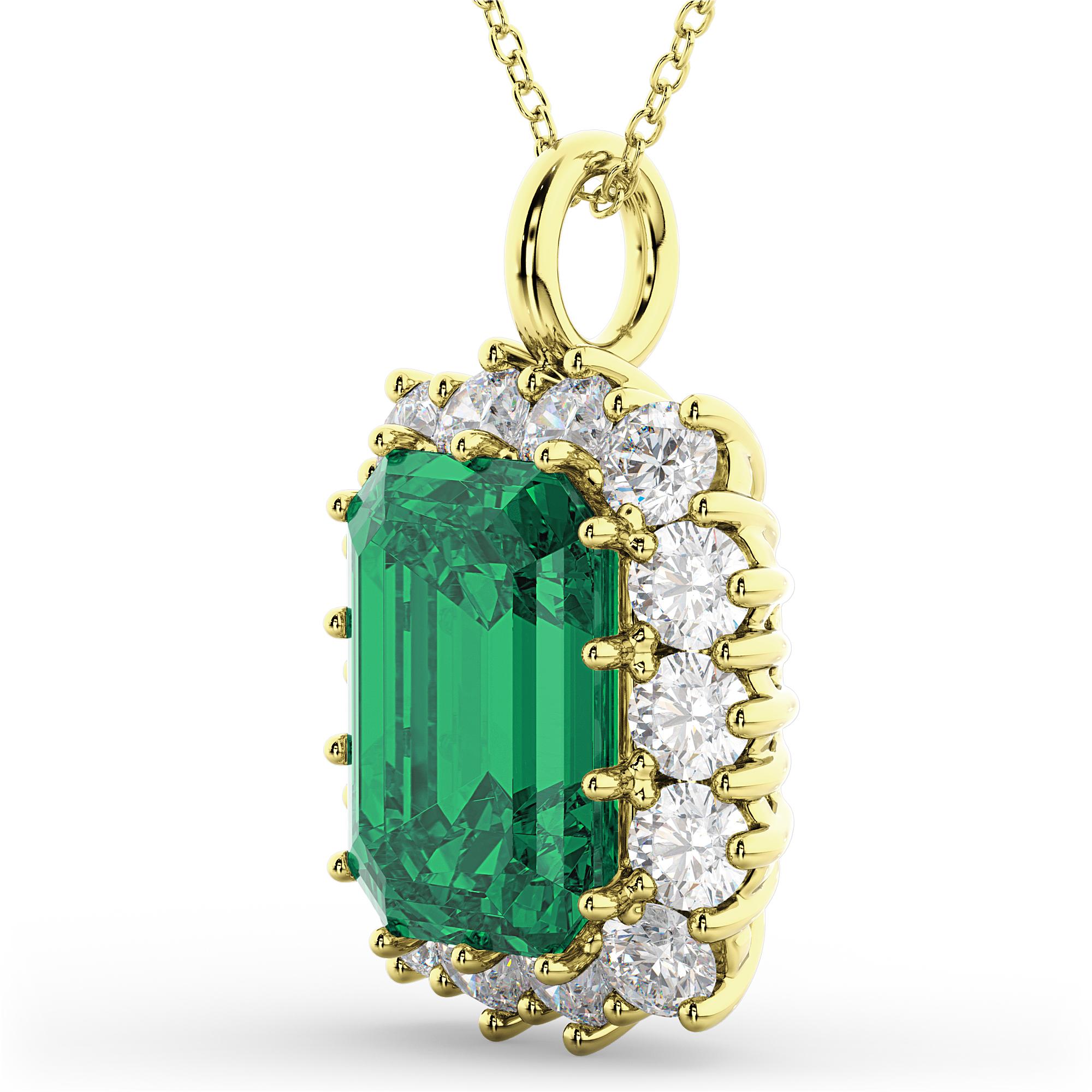 Emerald Cut Emerald & Diamond Pendant 14k Yellow Gold 5. Two Tone Bracelet. Breast Cancer Pendant. Wrap Bracelet. Emerald Cut Emerald. Unusual Engagement Rings. Enso Rings. Money Watches. Elephant Stud Earrings