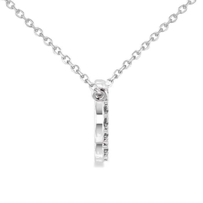 Allurez 14kt Yellow Gold Cloud & Lightning Diamond Necklace kqaM91