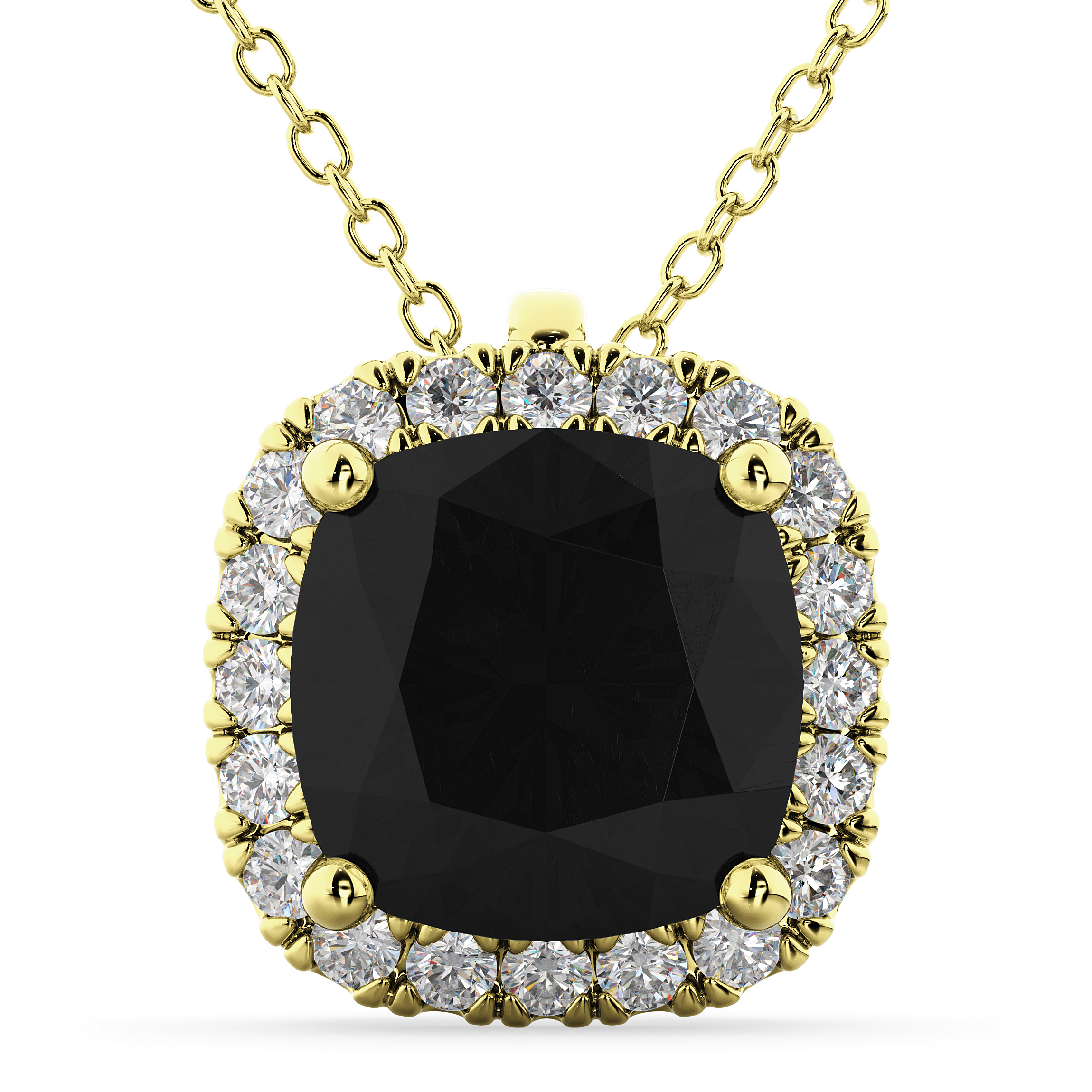 son jeweler shop white cushion necklaces gold diamond cut alpharetta jewelers best iroff pendant img halo with
