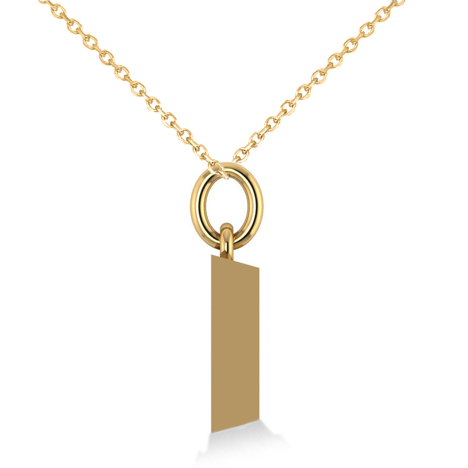 Gold Bar Pendant Necklace 14k Yellow Gold  Ad5086. Anniversary Band Rings. Custom Made Watches. Markie Diamond. Lunar Pendant. Cerebral Palsy Bracelet. Footprint Necklace. Infinity Engagement Ring With Wedding Band. Beaded Bracelet