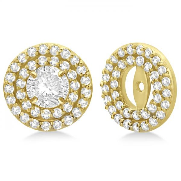 Diamond Earring Jackets For  Carat Studs