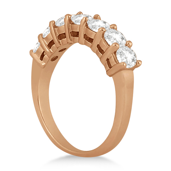 0.65ct Diamond Engagement Ring with Matching Engagement Band 18k Rose Gold
