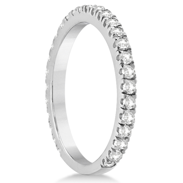 Diamond Bridal Halo Engagement Ring & Wedding Band in Platinum (1.30ct)