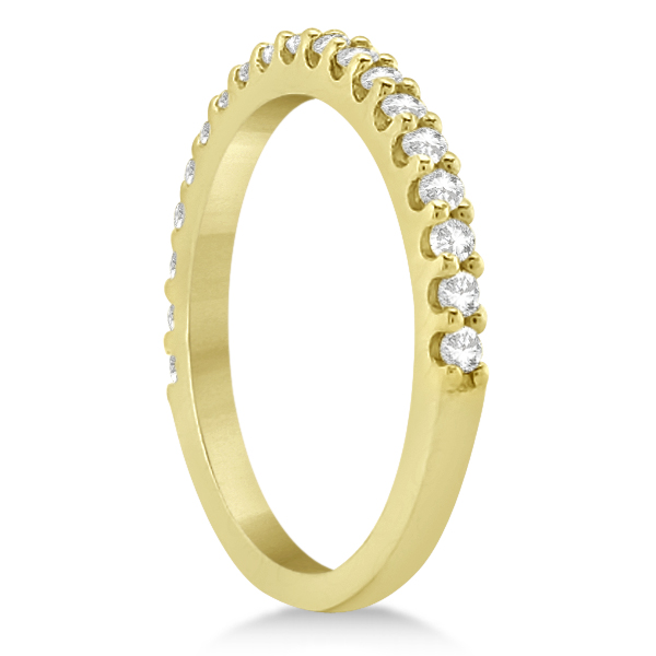 Halo Diamond & Ruby Bridal Engagement Ring Set 14K Yellow Gold (1.12ct)