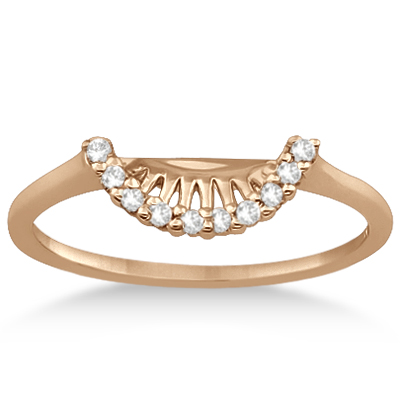 Petite Diamond Wedding Band 16k Rose Gold (0.12ct)