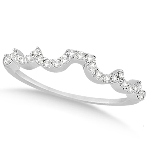 Heart Shape Diamond Engagement & Wedding Ring Platinum (0.50ct)