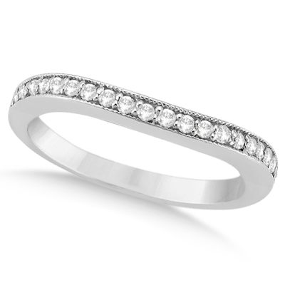 Round Diamond Butterfly Design Bridal Ring Set 14k White Gold (1.70ct)