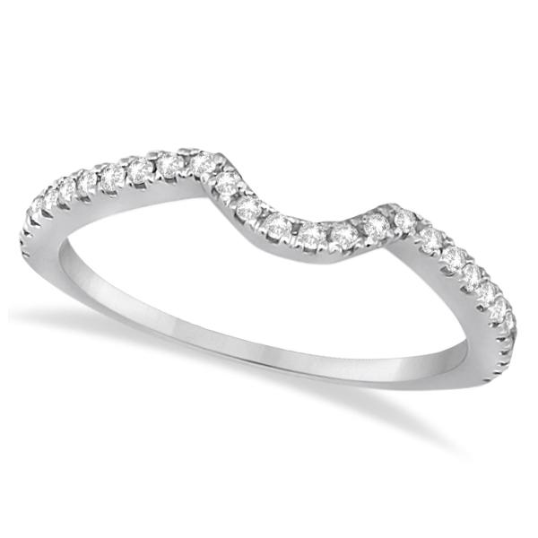 Diamond Halo Split Shank Engagement Bridal Set 18k White Gold (0.67ct)