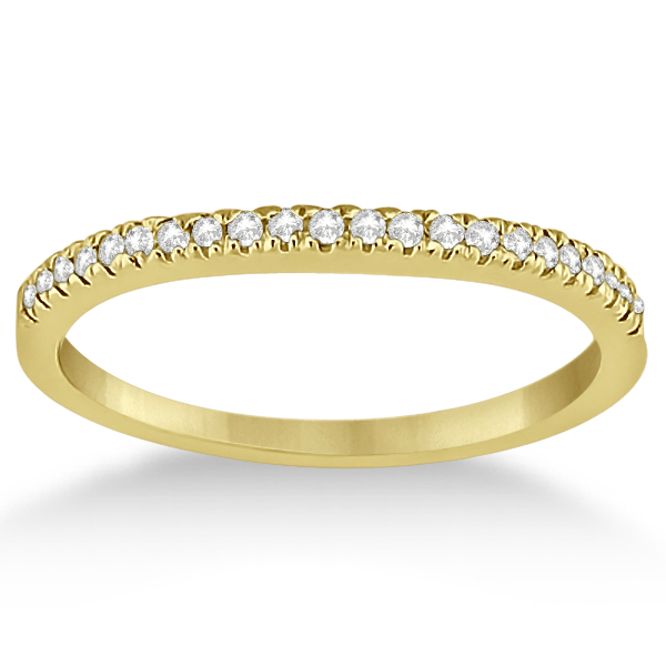 Angels Halo Diamond Engagement Ring & Wedding Band 14k Yellow Gold