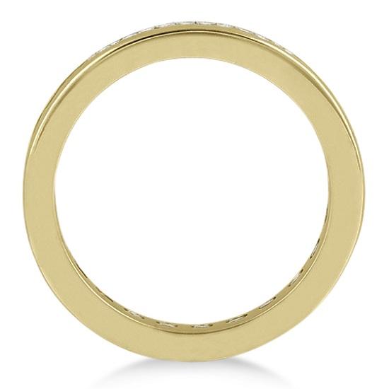 Channel-Set Diamond Eternity Ring Band 14k Yellow Gold (1.75 ct)