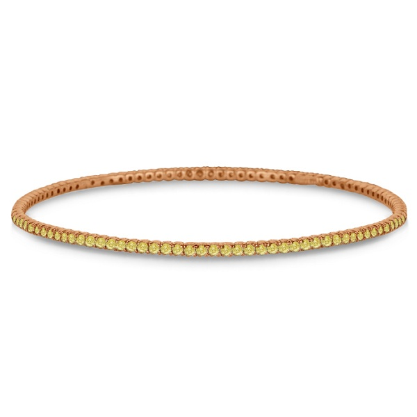 diamond bangle pink bangles product gold rose eternity band pinkband