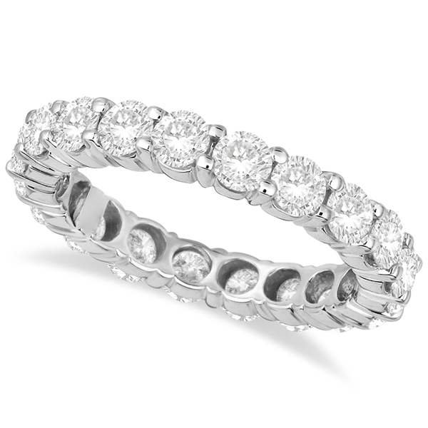 Diamond Eternity Ring Wedding Band Palladium (3.00ct)