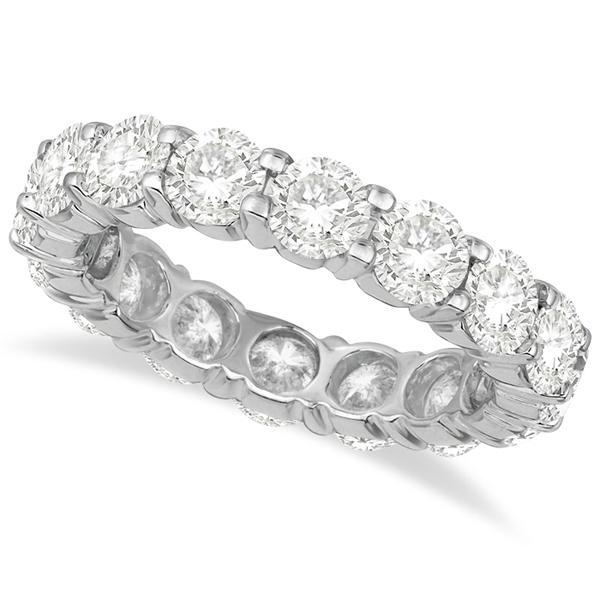 Diamond Eternity Ring Wedding Band Palladium (4.00ct)
