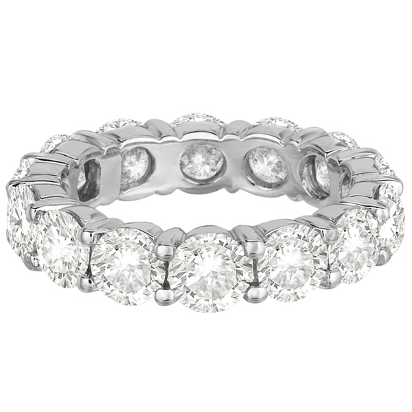 Diamond Eternity Ring Wedding Band Palladium (6.00ct)