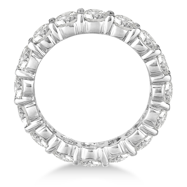 Diamond Eternity Ring Wedding Band 18k White Gold (4.00ct)